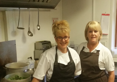 Winash Chefs Penny and Cheryl