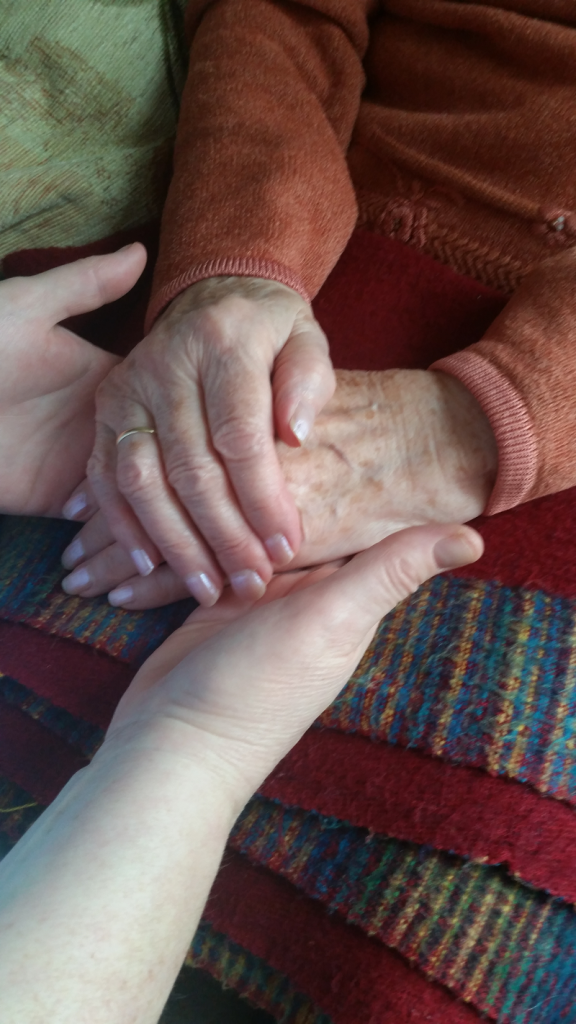 Caring for elderly residents can be very rewarding at Winash